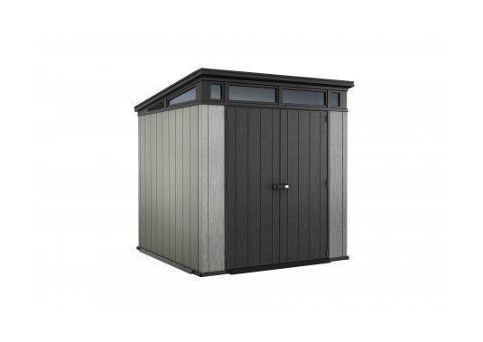 Abri De Jardin In 2020 | Outdoor Storage, Tall Cabinet à Abri De Jardin Résine Keter Oakland 757, 4,04 M² Ép.20 Mm