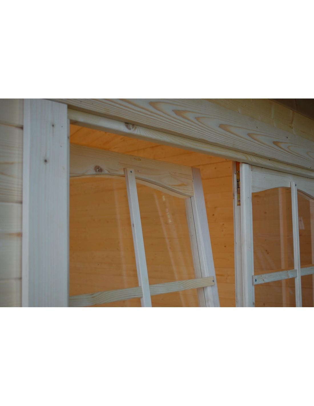 Abri De Jardin Irene 30 M² Avec Plancher - Serres-Et-Abris dedans Abri De Jardin Avec Plancher