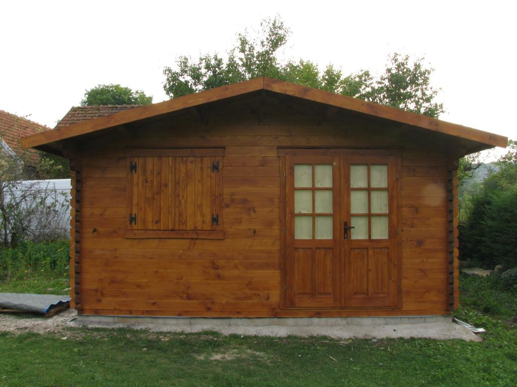 Abri De Jardin Lyon - 20M²-Chalet-Jardin En Bois En Kit serapportantà Abri De Jardin Habitable