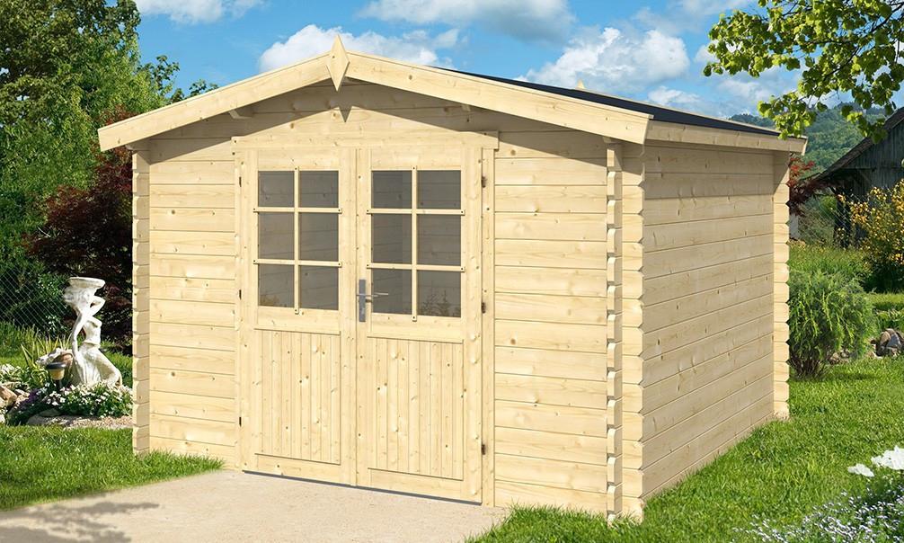 Abri De Jardin Oleron 34Mm - 8,6M² Intérieur serapportantà Abri De Jardin Yardmaster 12M2