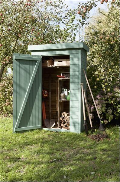 Abri De Jardin Pour Ranger Ses Outils Http://Www.m-Habitat à Abri Rangement