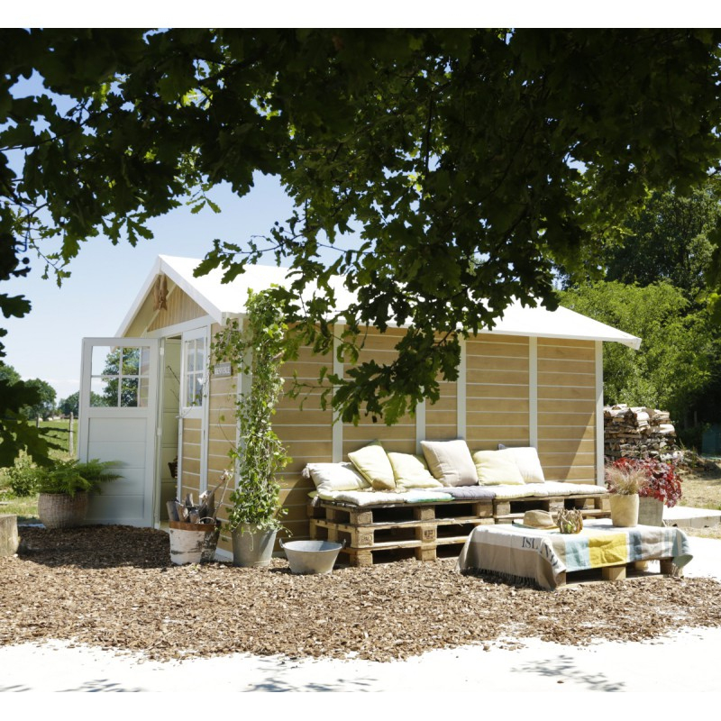 Abri De Jardin Pvc Deco 11,2M² Sherwood Grosfillex + Kit à Abris De Jardin Grosfillex
