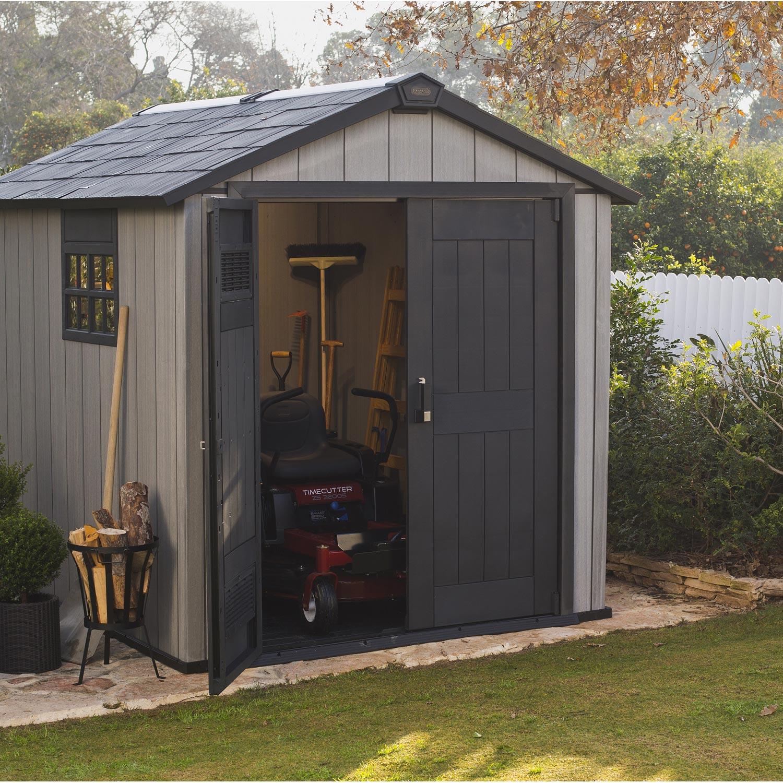 Abri De Jardin Resine 5M2 - Châlet, Maison Et Cabane à Abri De Jardin 5M2