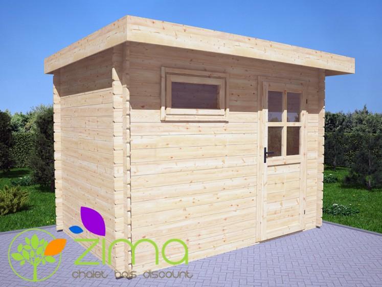 Abri De Jardin Toit Plat 6M² pour Abri De Jardin Toit Plat 5M2