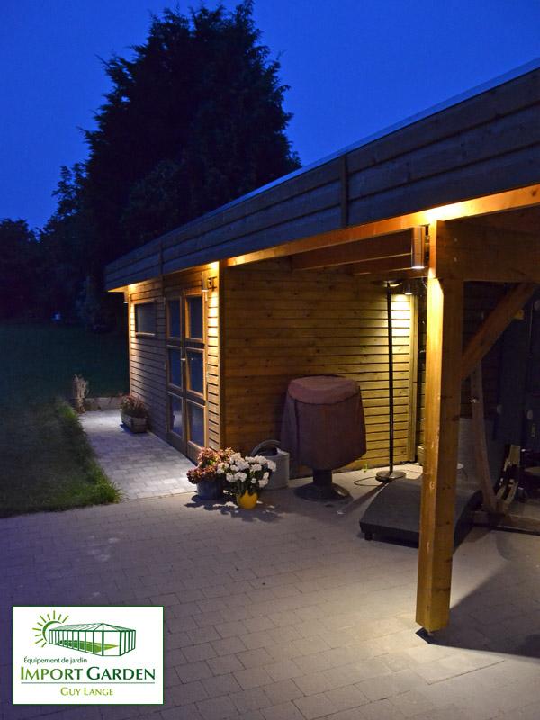 Abri De Jardin Toit Plat Au Design Contemporain | Concept Abri intérieur Abri De Jardin Contemporain