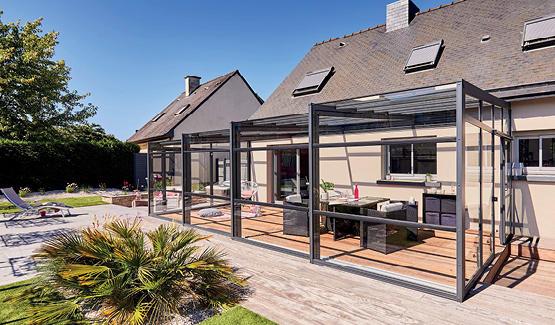Abri De Terrasse Coulissant En Alu - Abri De Terrasse pour Abri De Terrasse Coulissant