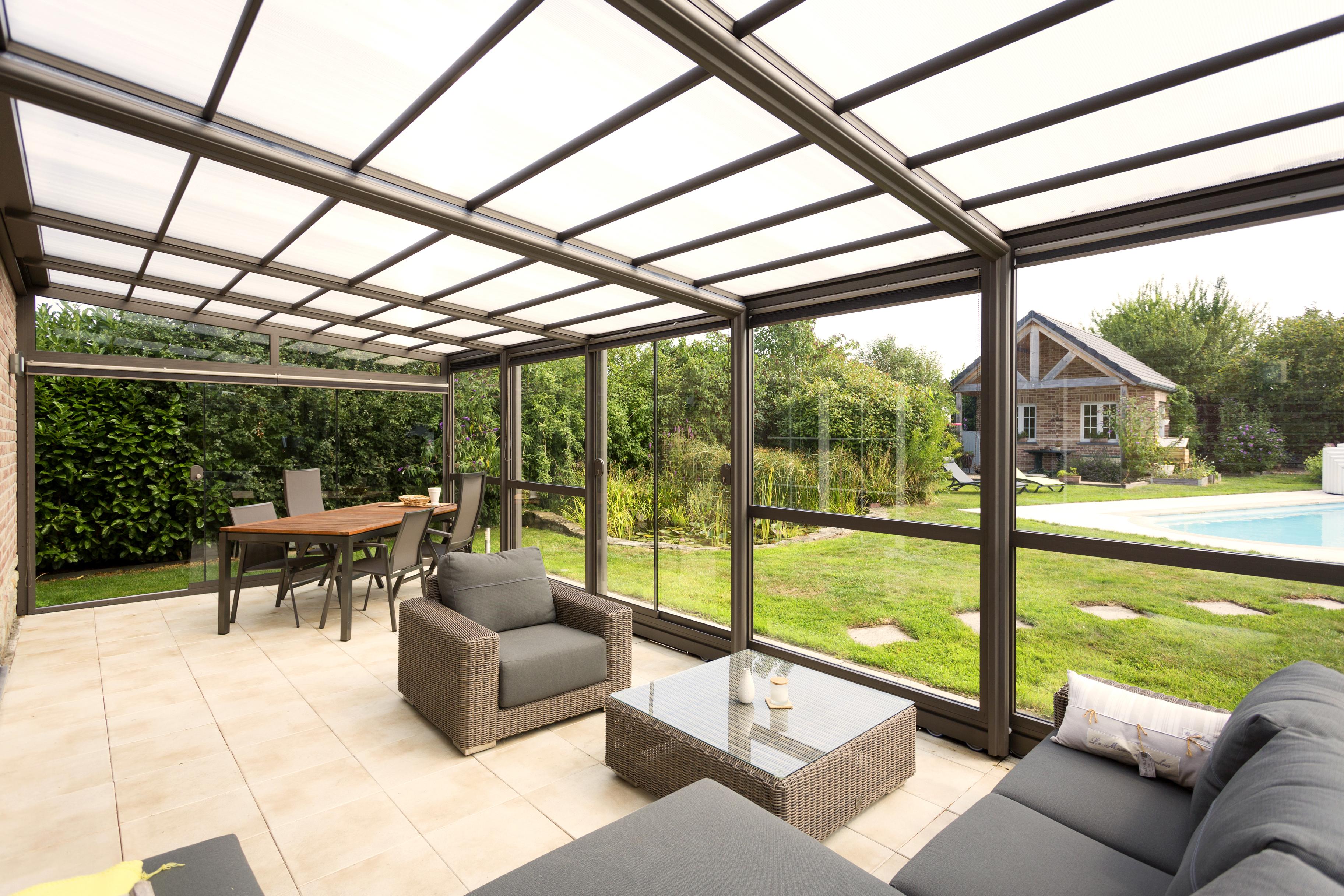 Abri De Terrasse En Aluminium - Verandair: Abris De Terrasse tout Abri De Terrasse Retractable