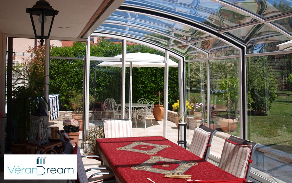Abri De Terrasse V12 – Verandream – Abri Pour Terrasse encequiconcerne Abri De Terrasse Retractable