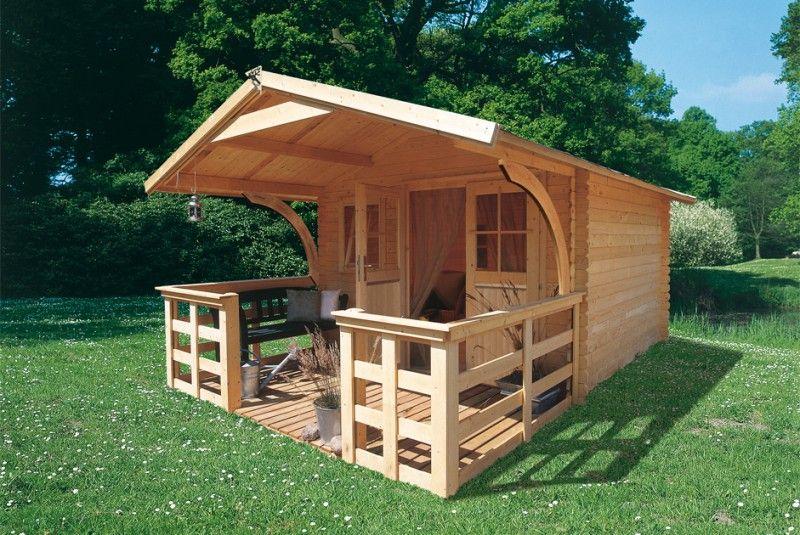 Abri-Elanor-4-Avec-Terrase-Et-Extension-De-Toit-En-Option avec Abris De Jardin Original