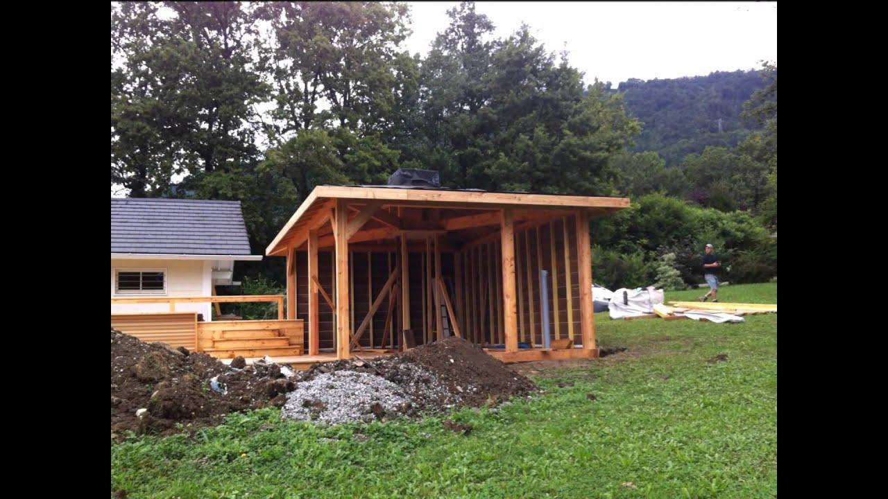 Abri Spa - Abri Sauna - Abri De Jardin - Gazebo - Espace intérieur Abrie De Jardin