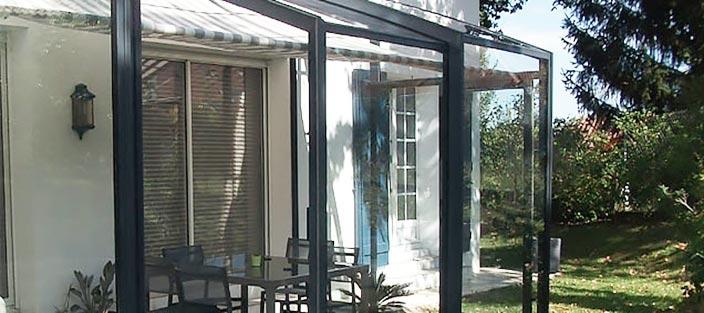 Abri Terrasse Fixe Et Coulissant | Fabricant Azenco tout Abri De Terrasse Coulissant