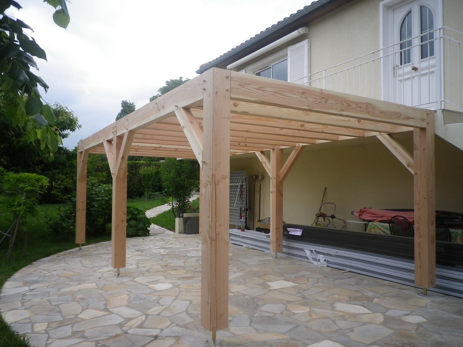 Abris Bois ,Clermont-Fd,Auvergne,63, - Castor Bois tout Construire Auvent De Terrasse En Bois