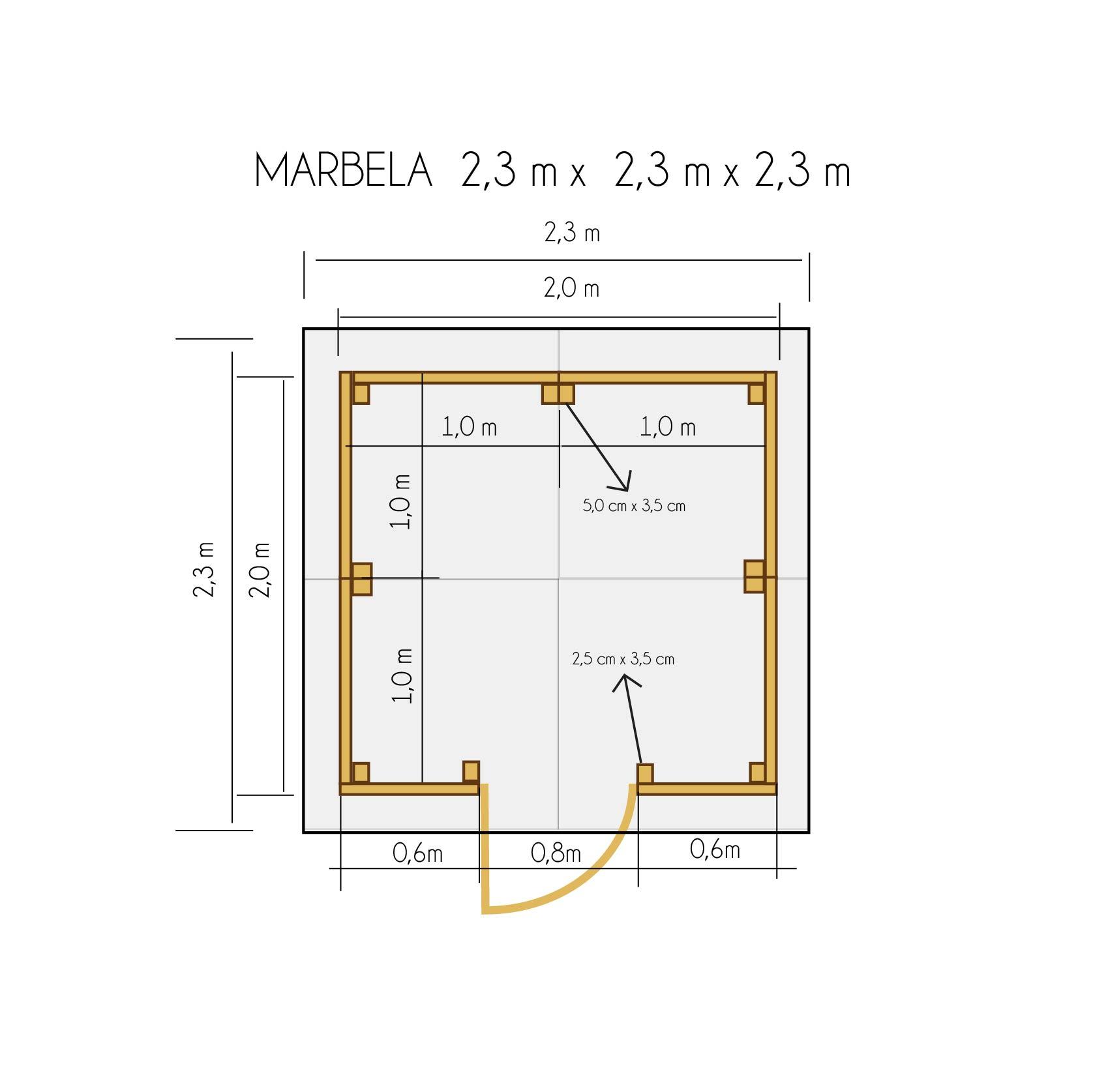 Abris De Jardin Jusqu'À 4M2 | Abri De Jardin 2,3X2,3M dedans Abri Jardin 4M2