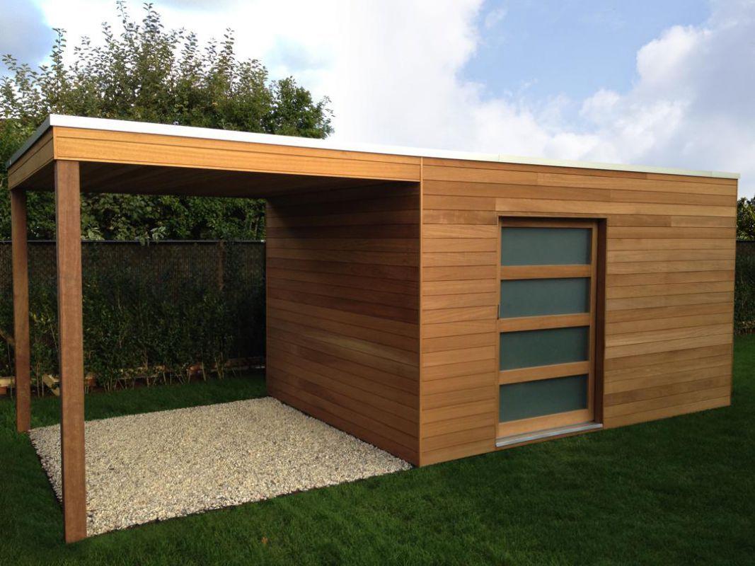 Abris De Jardin Moderne Ou Classique ? | Veranclassic intérieur Faire Un Abri De Jardin