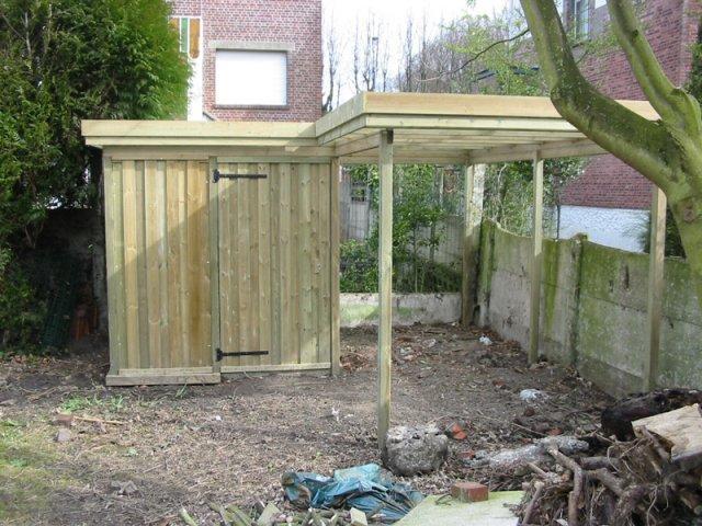 Abris De Jardin Sur-Mesure Nord | Th-Leman à Abri De Jardin Sur Mesure
