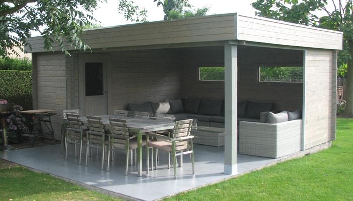 Abris De Jardins - Cosmo - Aménagements Extérieurs - Bois à Abri De Jardin En Composite