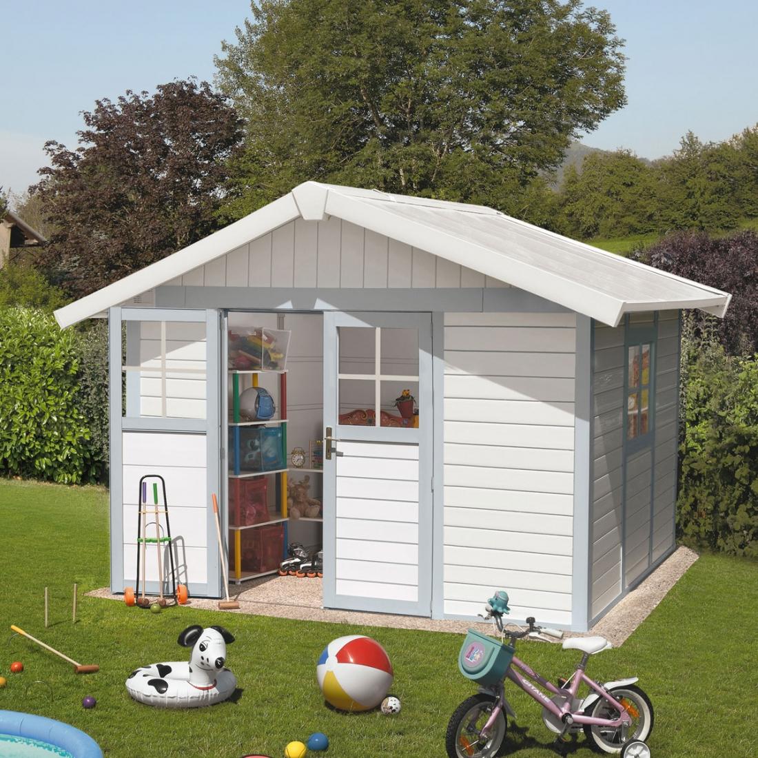Abris Jardin Grosfillex Déco 7,5 - Zendart Design intérieur Abri De Jardin Grosfillex