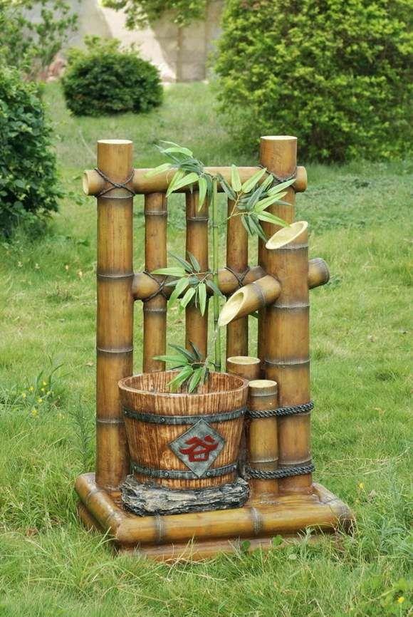 Accessoire Jardin Bambou | Bambous Jardin, Jardins Et à Déco Jardin Bambou