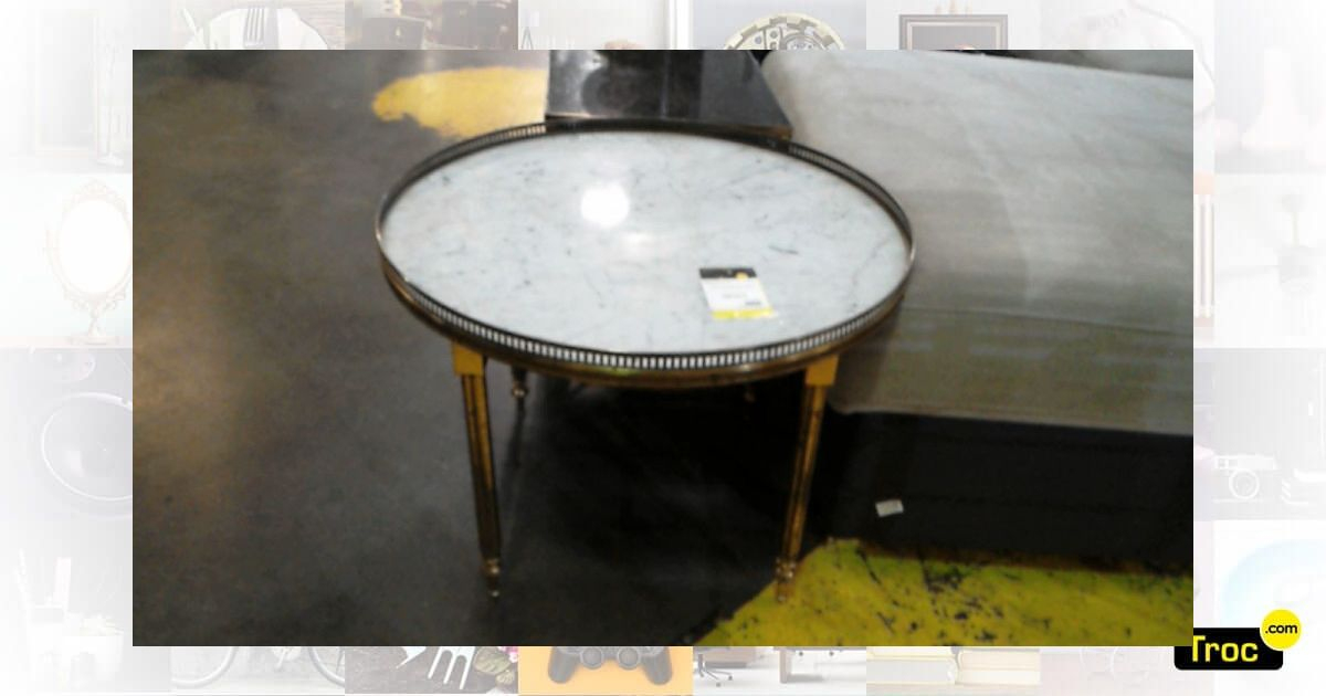 Achat Table Basse Gallery Occasion - Wasquehal | Troc serapportantà Meuble Occasion Lille