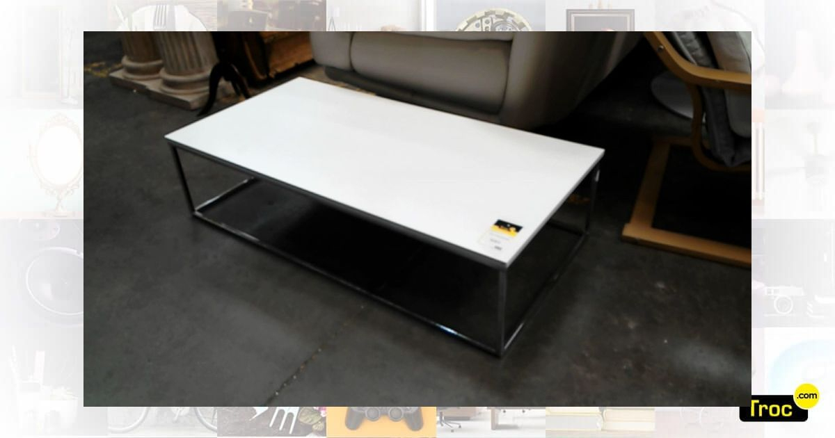 Achat Table Basse Moderne Occasion - Wasquehal | Troc tout Meuble Occasion Lille