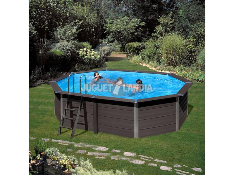 Acheter Piscine Bois Gre Composite Pool 524 X 386 X 124 Cm pour Piscine Kpcov52