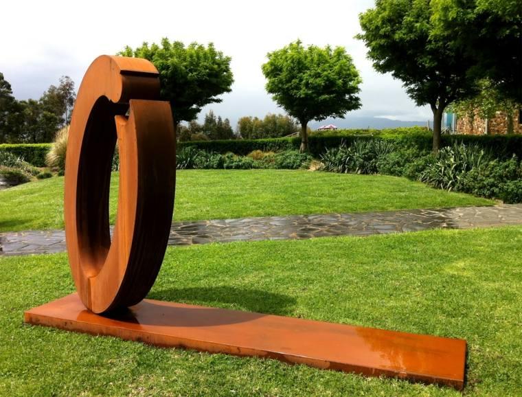 Acier Corten : La Star Moderne Du Jardin encequiconcerne Deco Metal Jardin
