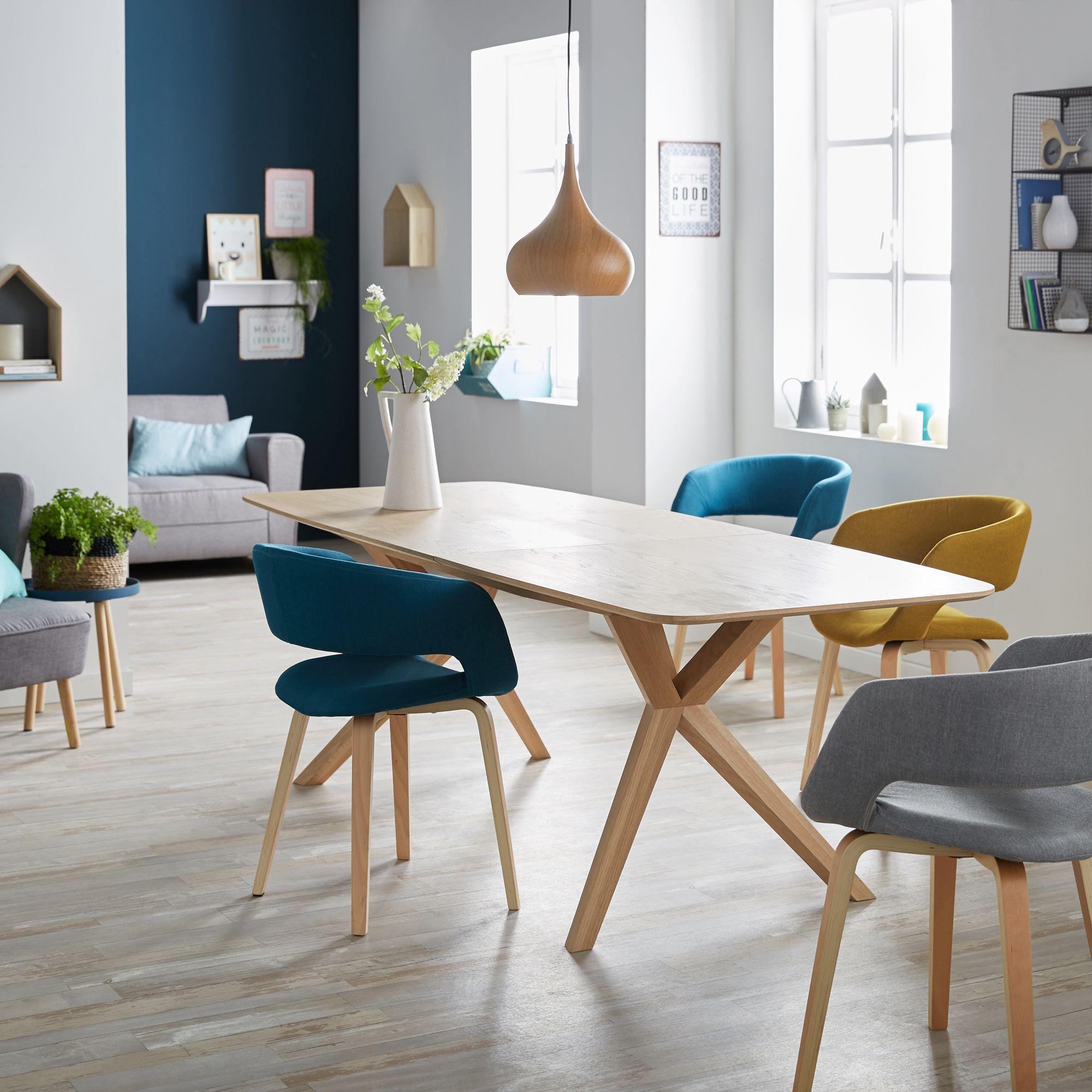 Alinea : Joyau Chaise Avec Accoudoirs Bleu - #alinea tout Chaise