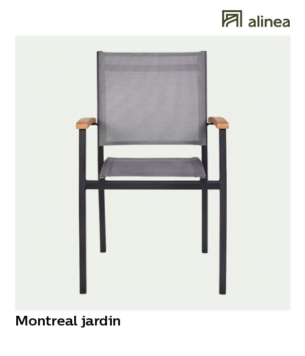 Alinea : Montreal Jardin Fauteuil De Jardin Empilable En concernant Alinea Fauteuil Jardin