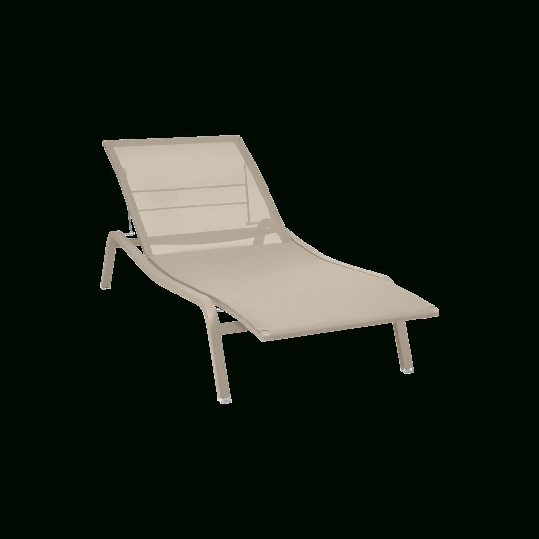 Alizé Sunlounger, Garden Chaise Longue intérieur Bain De Soleil Lombok Gifi