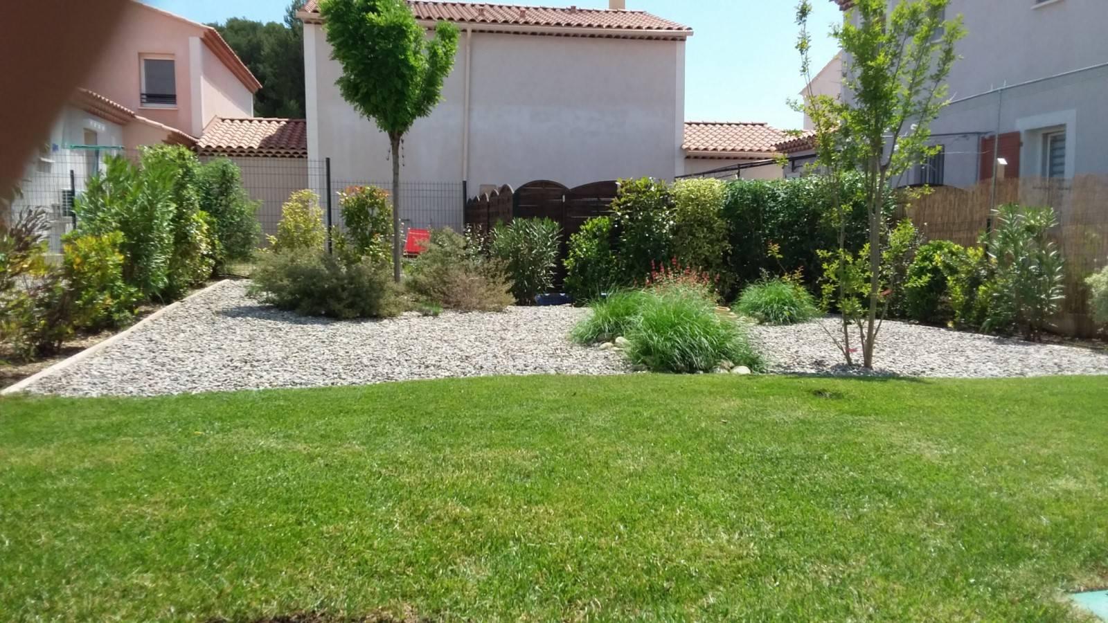 Amenagement D'Un Petit Jardin Méditerranéen Devant Maison à Aménagement Terrasse Devant Maison