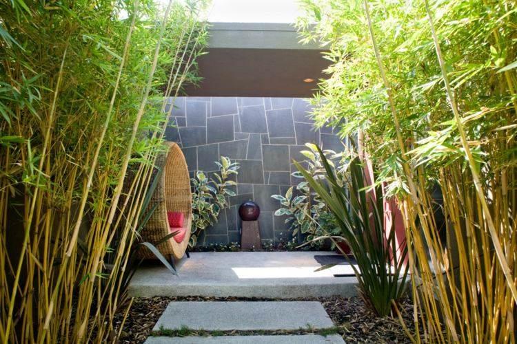 Aménagement Jardin: 27 Idées Pour Intégrer Le Bambou! pour Déco Jardin Bambou
