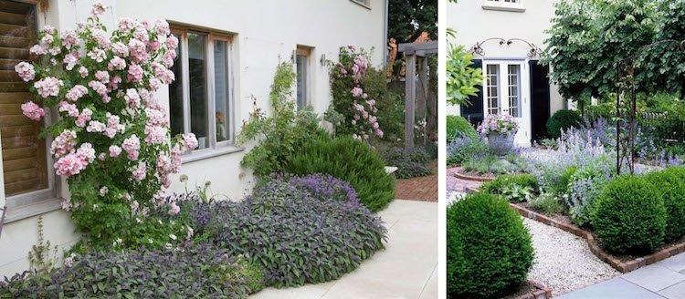 Aménagement Jardin Devant Maison En 50 Idées Modernes intérieur Parterre Devant Maison Moderne