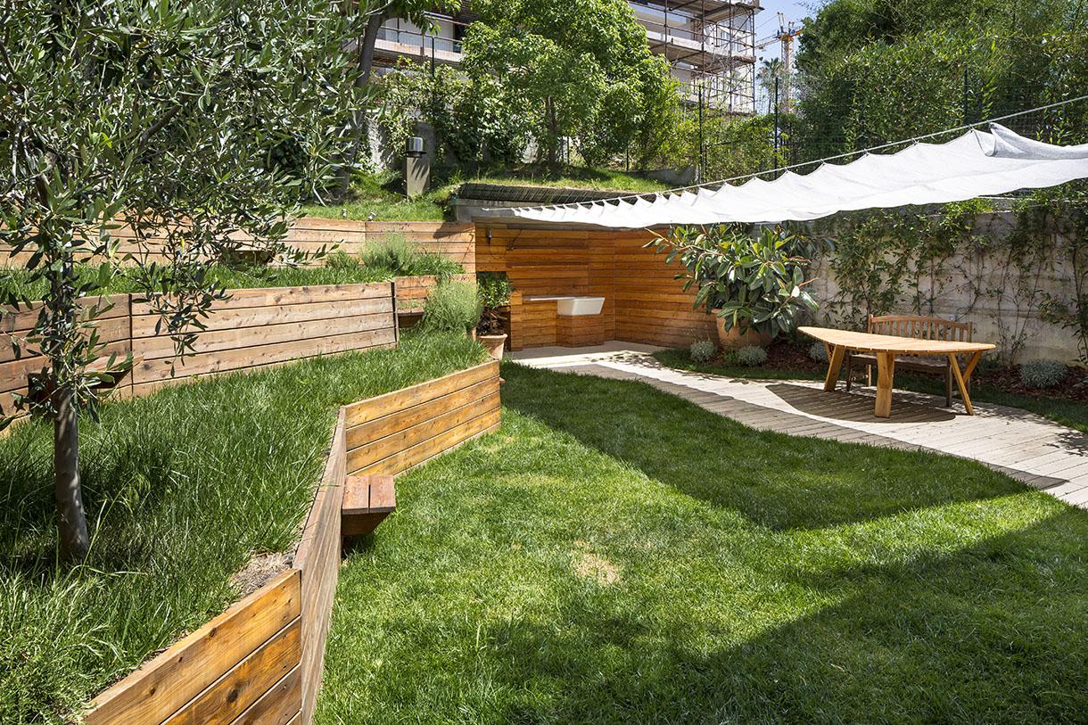 Aménagement Jardin En Pente : Conseils Et Astuces à Exemple D Aménagement De Jardin