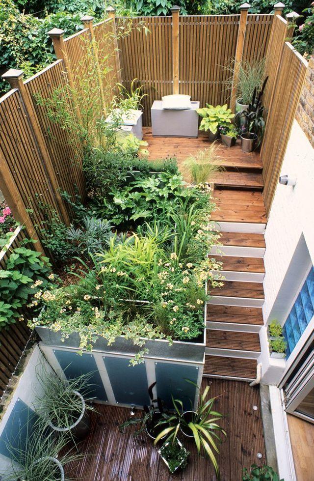 Aménagement Petit Jardin De Ville : 12 Idées Sur Pinterest concernant Petit Cabanon De Jardin