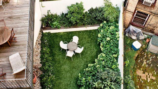 Aménagement Petit Jardin De Ville : 12 Idées Sur Pinterest dedans Comment Aménager Un Petit Jardin Rectangulaire