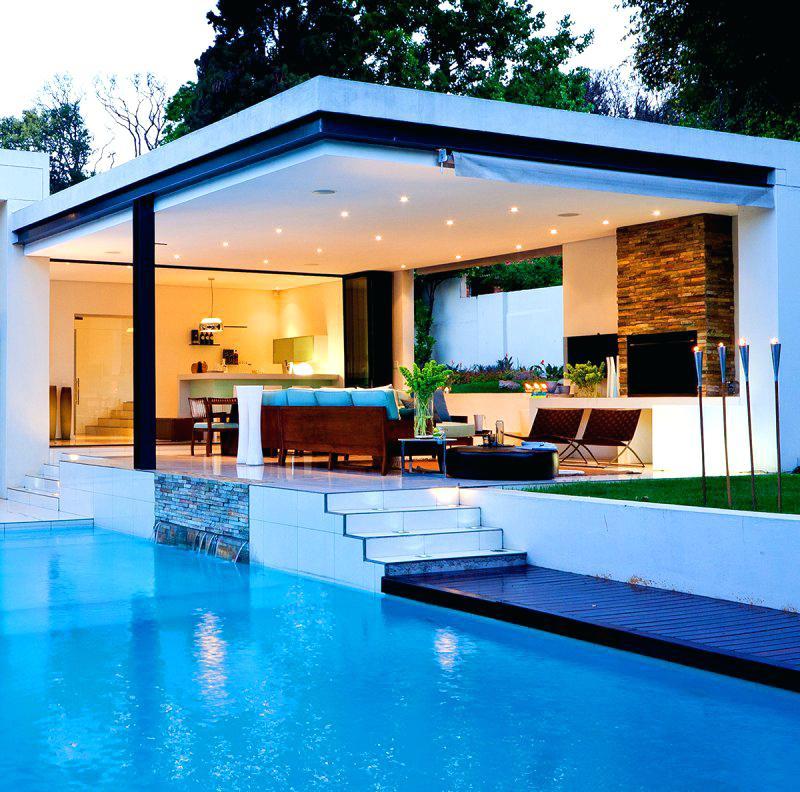 Amenagement Piscine Pool House avec Idees Pool House Piscine