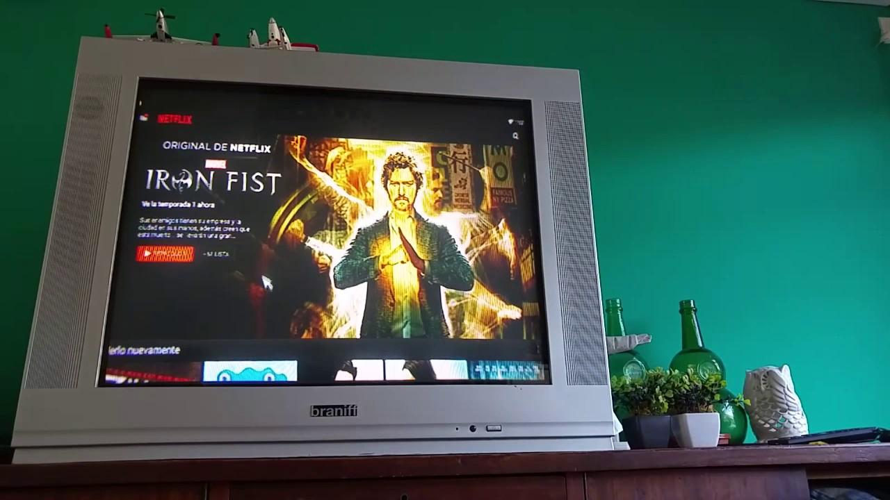 Android Tv Box M8S - Netflix En Tv De Tubo ! Argentina dedans Tv But
