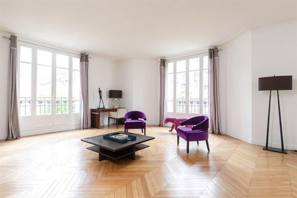 Appartement De Luxe À Louer En Courte Durée Dans Le 16Ème tout Location Appartement Luxe Paris Courte Durée