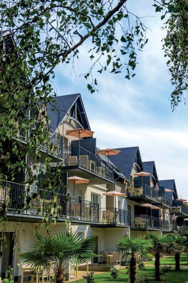 Appartements Résidence Vacances Bleues Les Jardins D'Arvor à Les Jardins D Arvor Benodet