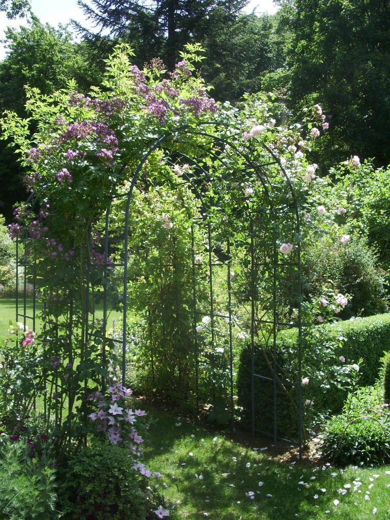 Arceau Jardin - Idees Conception Jardin | Idees Conception avec Arceau Jardin