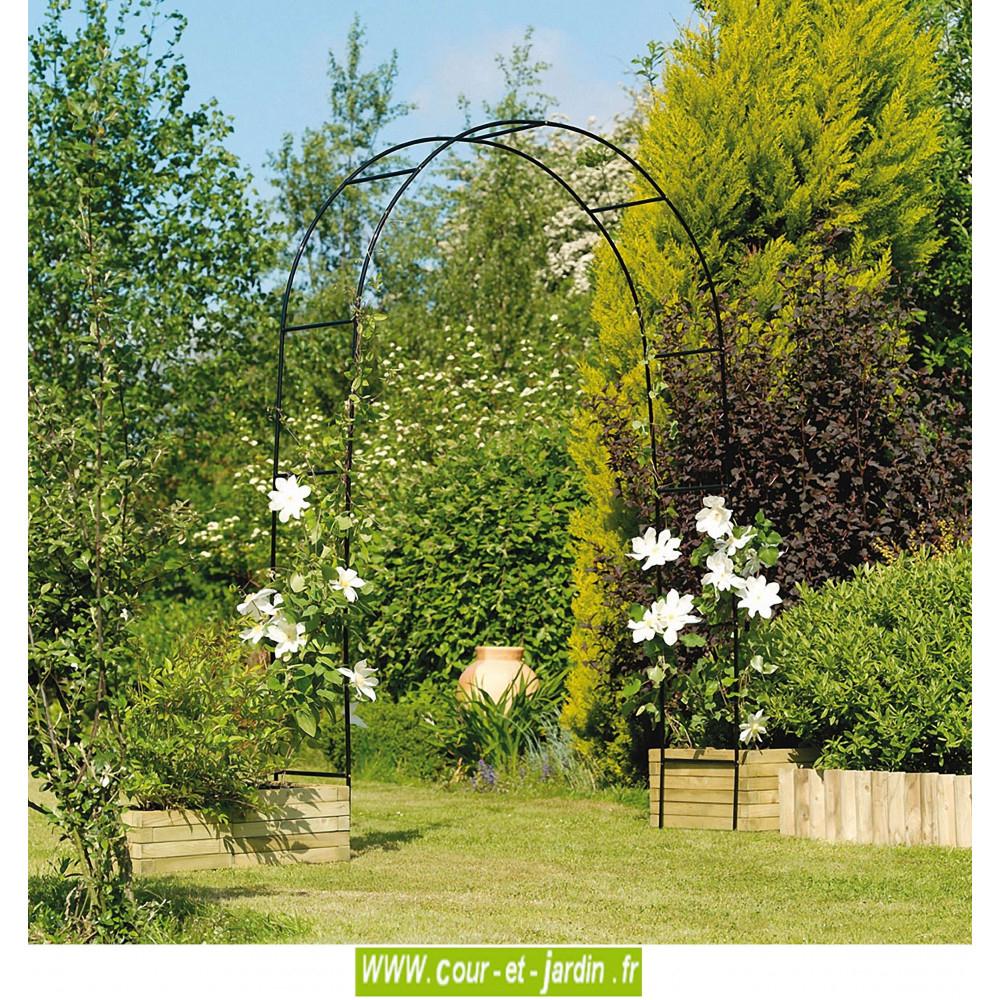 Arche De Jardin, En Métal Easy Arch - Pergola De Jardin avec Arceau Jardin