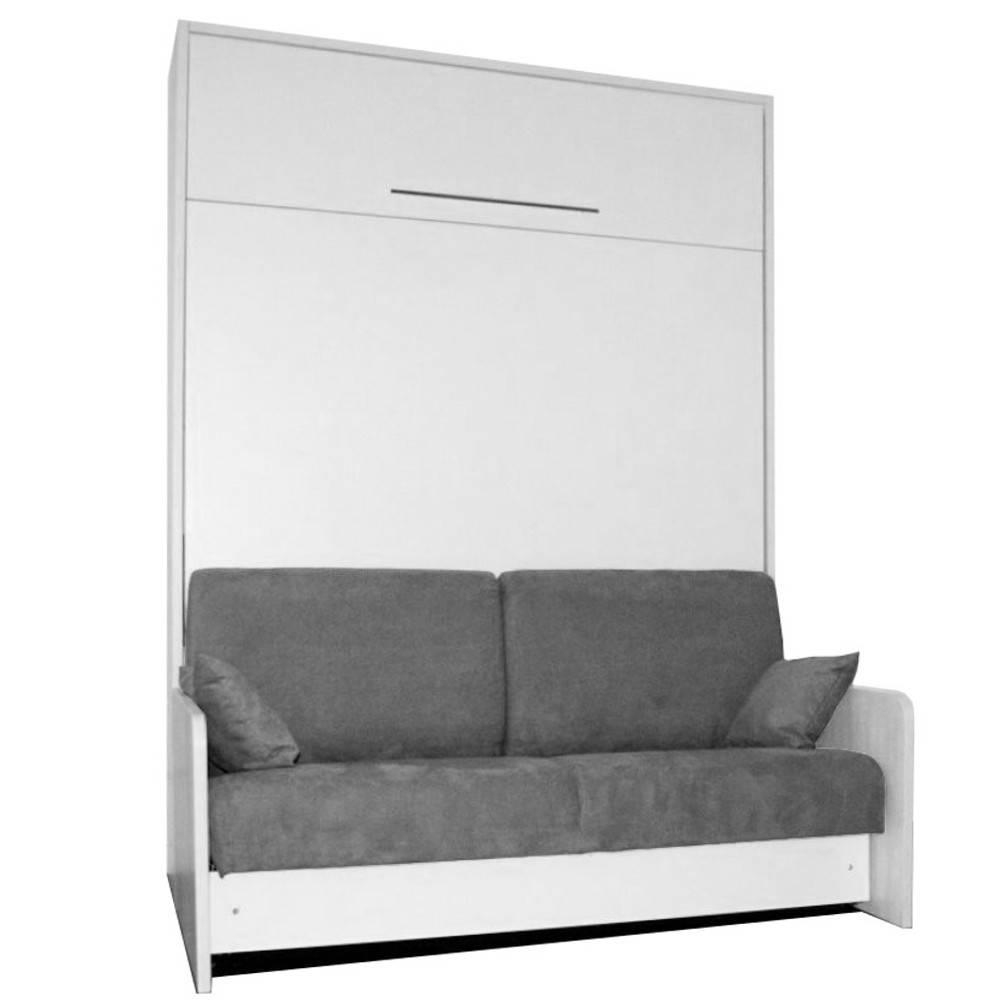 Armoire Lit Escamotables Au Meilleur Prix, Space Sofa concernant Lit Escamotable Canapé Conforama