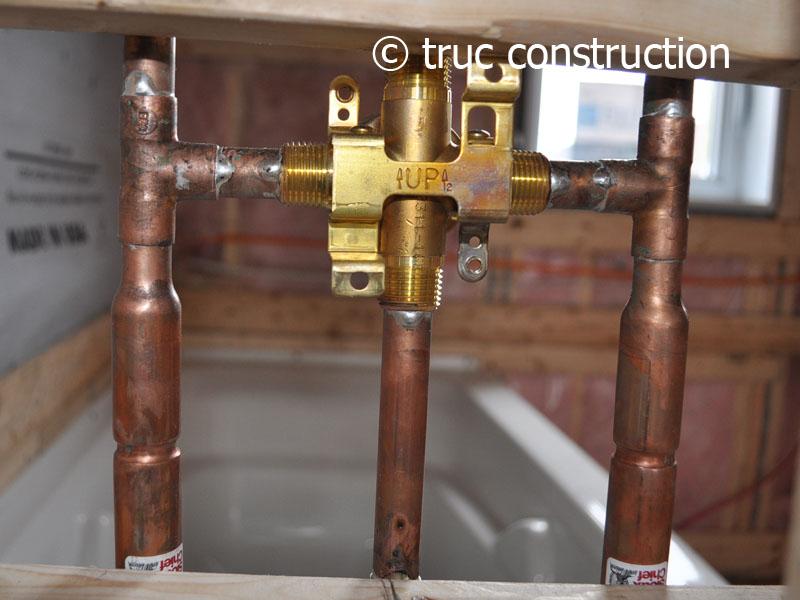 Assemblage Du Robinet De Douche pour Installation Robinet Douche