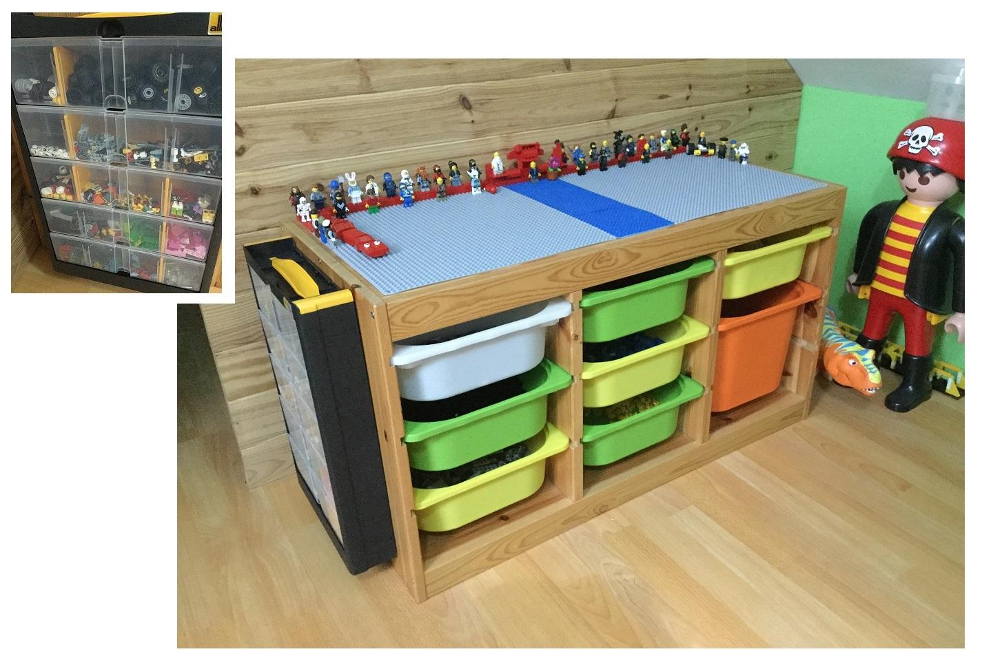 Assistante Maternelle Altéa 3, Somme à Meuble Lego