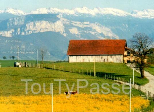 Avec Vue Panoramique Sur Le Vercors 2 Chambres D'Hôtes à Chambre D Hote Apremont Sur Allier