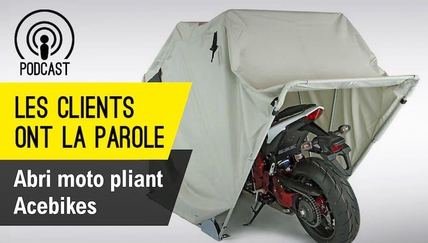 Avis Abri Moto Pliant Acebikes - Jerouleamoto intérieur Abri Moto