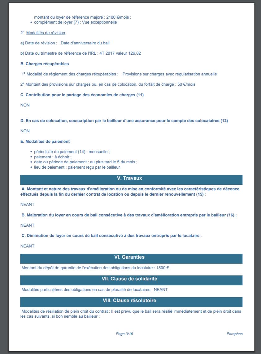 Bail De Location Numérique Gratuit - Modèle Pdf (Loi 2020) à Contrat De Location Meublé Gratuit