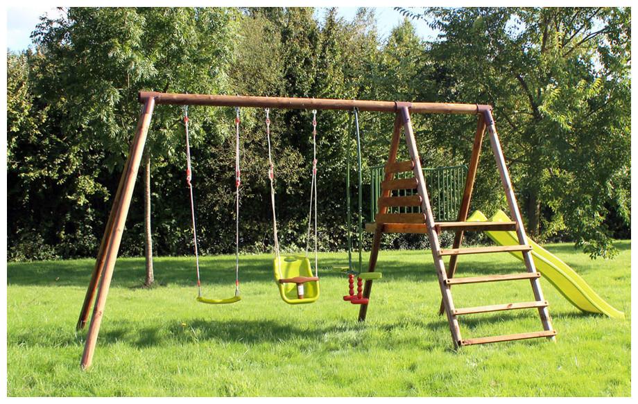 Balancoire En Bois Pour Enfant - Abri De Jardin Et à Balancoire Bricorama