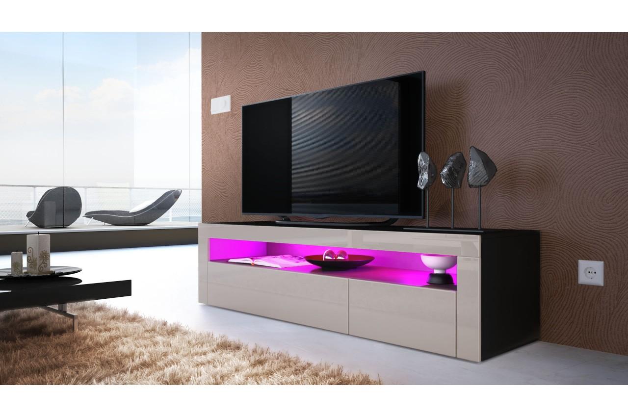 Banc Télévision Moderne - Trendymobilier tout Meuble Tele Moderne