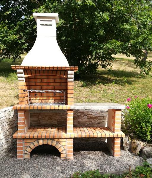 Barbecue En Brique De Jardin Avec Évier Ce3050F-My Barbecue intérieur Evier De Jardin